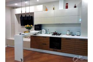 Кухня в современном стиле Люсси - Мебельная фабрика «Оранжевый Кот»