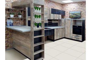 Кухня в стиле Лофт - Мебельная фабрика «Висма Мебель»