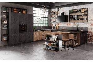 Кухня в стиле Лофт - Мебельная фабрика «Гармония мебель»