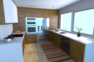 Кухня в стиле модерн Capricorno - Мебельная фабрика «Avanto»