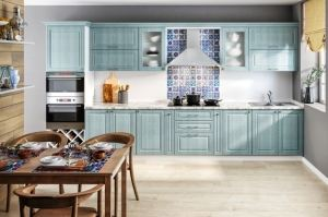 Кухня прямая VALENCIA - Мебельная фабрика «Висма Мебель»