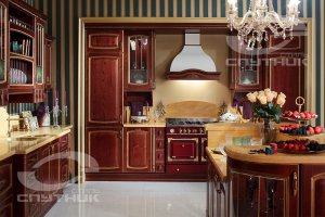 Кухня Василиса в стиле Прованс - Мебельная фабрика «Спутник стиль»