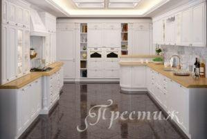 Кухня VERONICA из массива дерева - Мебельная фабрика «Престиж»