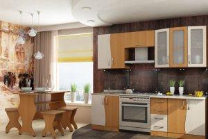 Кухня Весна 1,5 Бук\Дуб - Мебельная фабрика «НКМ»
