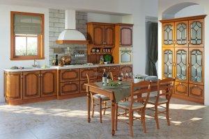 Кухня Виктория массив - Мебельная фабрика «Юлис»