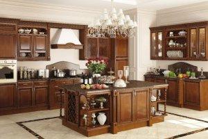 Кухня Виктория массив - Мебельная фабрика «MipoLine»