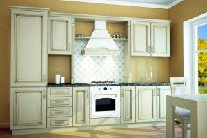 Кухня с патинированными фасадами Виктория - Мебельная фабрика «Д.А.Р. Мебель»
