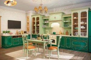 Кухня Виоланта-Бонье - Мебельная фабрика «Ладос-мебель»