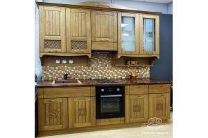 Кухня Виринея (массив дуба) - Мебельная фабрика «Молчанов»