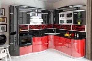 Кухня Волна - Мебельная фабрика «Мелиада»