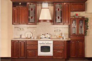Кухня Шпон Клёна - Мебельная фабрика «Sweet Mebel»