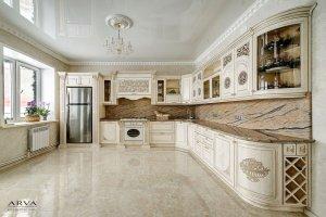 Кухня ясень Топленое молоко - Мебельная фабрика «ARVA»