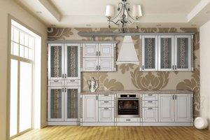 Кухня Жасмин Белая - Мебельная фабрика «Кубань-мебель»