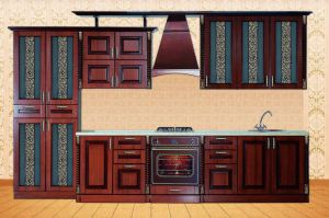 Кухня Жасмин Орех - Мебельная фабрика «Кубань-мебель»