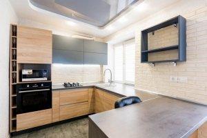 Кухня TSS п-образная - Мебельная фабрика «Элна»