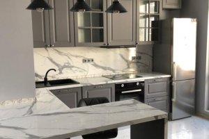 Кухня в пленке ПВХ Графит - Мебельная фабрика «МЭК»