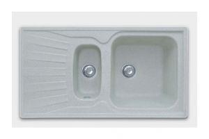 Кухонная мойка 1.5 чаш+крыло Арт.2869 - Оптовый поставщик комплектующих «КБК»
