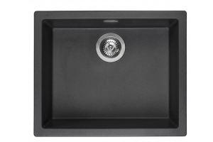 Кухонная мойка AMSTERDAM 50 BLACK SILVERY - Оптовый поставщик комплектующих «Reginox Reef Holding»