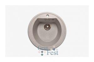 Кухонная мойка круглая Арт.2865 - Оптовый поставщик комплектующих «КБК»