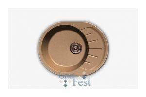 Кухонная мойка круглая односекционная Арт.2856 - Оптовый поставщик комплектующих «КБК»
