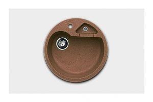 Кухонная мойка круглая с доп.секцией Арт.2867 - Оптовый поставщик комплектующих «КБК»