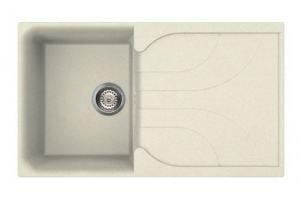 Кухонная мойка MONZA 400, BIANCO ANTICO 62 - Оптовый поставщик комплектующих «Reginox Reef Holding»