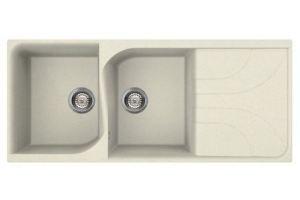 Кухонная мойка MONZA 500, BIANCO ANTICO 62 - Оптовый поставщик комплектующих «Reginox Reef Holding»