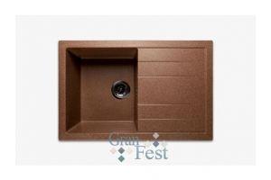 Кухонная мойка прямоугольная односекционная Арт.2854 - Оптовый поставщик комплектующих «КБК»