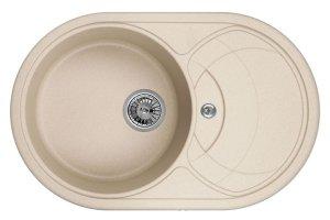 Кухонная Мойка Seaman Eco Granite SGR-7801 Sand - Оптовый поставщик комплектующих «SEAMAN»