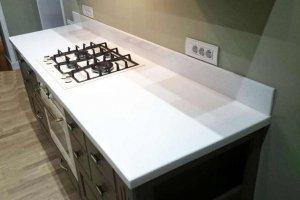 Кухонная столешница Corian Designer White - Оптовый поставщик комплектующих «Афиан»