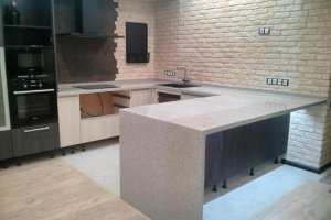Кухонная столешница из искусственного камня 1 - Оптовый поставщик комплектующих «Афиан»
