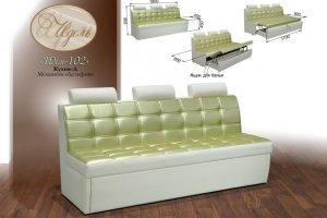 Кухонный диван Идель 102 - Мебельная фабрика «Идель»