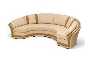 Диван полукруглый в комнату - Мебельная фабрика «Мебельные Решения»