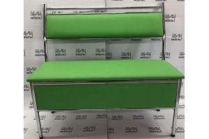 Кухонный диван прямой зеленый - Мебельная фабрика «Люкс-С»