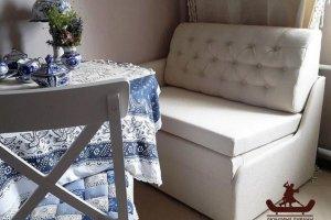 Кухонный диван с каретной стяжкой - Мебельная фабрика «Танго»
