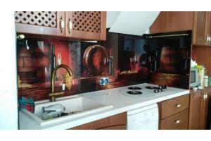 Кухонный фартук 23 - Оптовый поставщик комплектующих «Студия Художественного Стекла и Мебели»