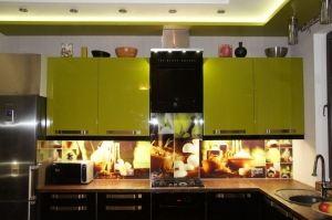 Кухонный фартук 6 - Оптовый поставщик комплектующих «Студия Художественного Стекла и Мебели»