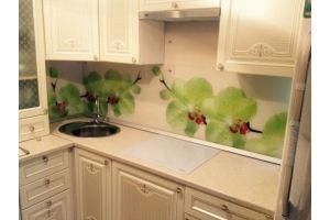 Кухонный фартук 9 - Оптовый поставщик комплектующих «Студия Художественного Стекла и Мебели»