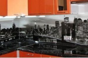 Кухонный фартук фотопечать на стекле - Оптовый поставщик комплектующих «БрянскСтеклоДеталь»