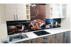 Кухонный фартук из стекла 10 - Оптовый поставщик комплектующих «Мир из стекла»