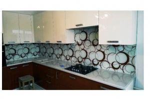 Кухонный фартук из стекла 11 - Оптовый поставщик комплектующих «Мир из стекла»