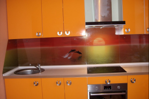 Кухонный фартук из стекла 43 - Оптовый поставщик комплектующих «Glass Master»
