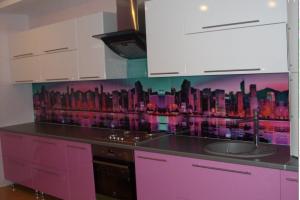 Кухонный фартук из стекла 45 - Оптовый поставщик комплектующих «Glass Master»