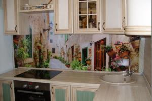 Кухонный фартук из стекла 48 - Оптовый поставщик комплектующих «Glass Master»
