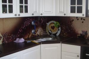Кухонный фартук из стекла 50 - Оптовый поставщик комплектующих «Glass Master»