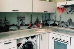 Кухонный фартук из стекла 7 - Оптовый поставщик комплектующих «Мир из стекла»