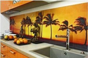 Кухонный фартук с фотопечатью - Оптовый поставщик комплектующих «Евростекло»