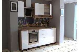 Кухонный гарнитур ЛДСП глянец - Мебельная фабрика «Рестайл»
