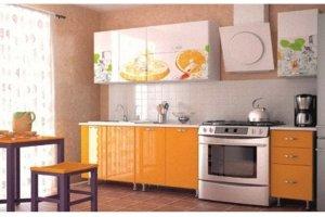 Кухонный гарнитур прямой фотопечать - Мебельная фабрика «ИЛ МЕБЕЛЬ»