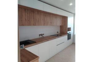 Кухонный гарнитур белый - Мебельная фабрика «Мебель Миру»